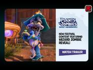 PvZBfN Wizard Zombie Reveal PvZ2 Ad