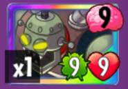 Zombot 1000 card