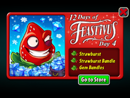 12 Days of Feastivus 2019 Day 4 Strawburst & Gem Bundles