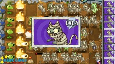 Plants vs Zombies 2 New Feature Zombies vs Plants I, Zombie Imp Mummy vs Plants 2