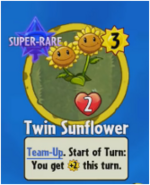 Receiving Twin Sunflower