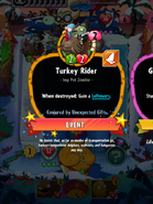 Unexpected Gifts Gifted Turkey Rider