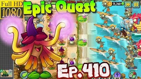 Plants vs. Zombies 2 - WITCH HAZEL - Epic Quest Premium Seeds (Ep
