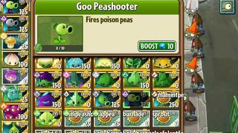 Goo Peashooter - Upcoming plant - Plants vs
