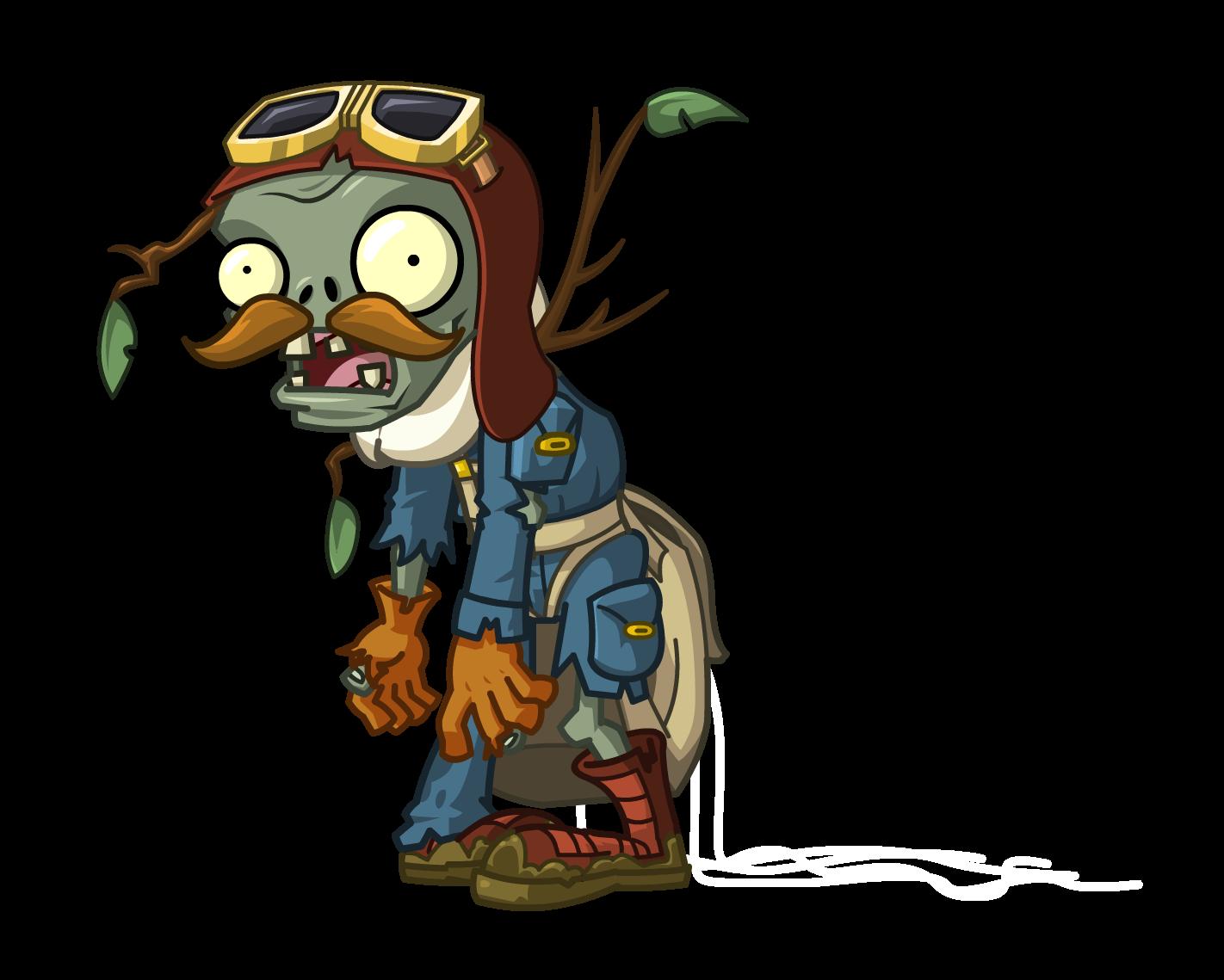 Lost Pilot Zombie Plants Vs Zombies Wiki Fandom