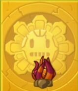 Unarmed Escape Root Gold Tile