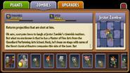Jester Zombie Almanac Entry