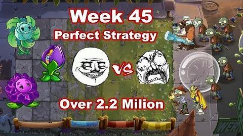 PVZ 2 Battlez Week 45 Perfect Strategy Over 2