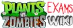 Plants Vs Zombies Examination wiki wordmark