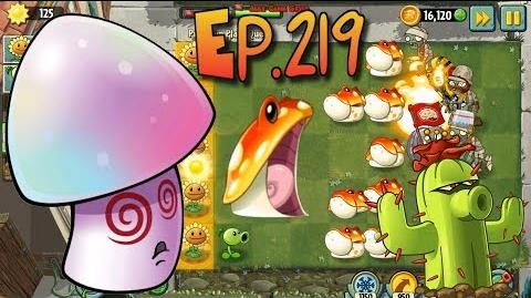 Plants vs. Zombies 2 - Cactus, Toadstool, Hypno-shroom Power Up Premium Plant Quest (Ep