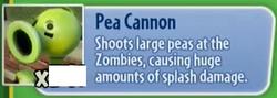 Pea CannonOpis