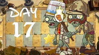 Android Beta 2 PvZ All Stars - Ancient Egypt Day 17
