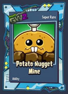 Pvzgw2 potato nugget mine sticker