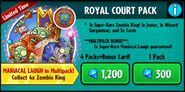 RoyalCourtPackPvZH