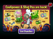 Caulipower & Sling Pea are back