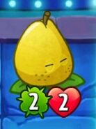 Pear Pal Closes Eyes & Blinks