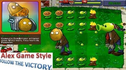 Plants vs. Zombies - Achievement - Wall-Not Attack (Android Gameplay HD) Ep