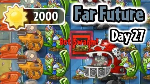 Plants vs Zombies 2 - Far Future Day 27- Last Stand - Caulipower Epic Quest Step 2