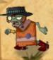 Shrunken Poncho Zombie