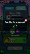 Finding a Multiplayer match PvZ Heroes