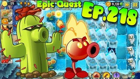 Plants vs. Zombies 2 - Epic Quest Inzanity (Ep