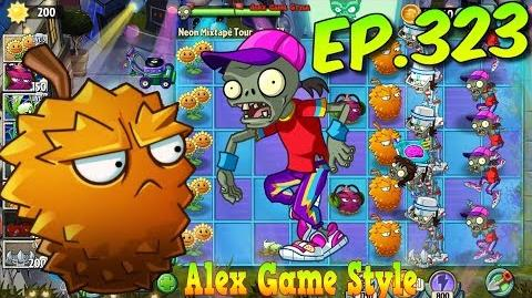 Plants vs. Zombies 2 New Breakdancer Zombie, Got a new Garlic - Neon Mixtape Tour Day 17 (Ep