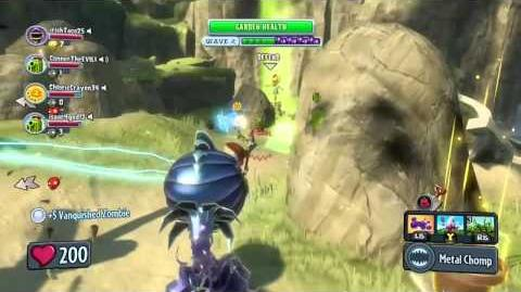 Video - PvZ Garden Warfare Zomboss Down \