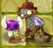 Shovelling a Puff-shroom
