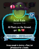 Acid Rain description
