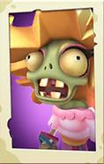 Glitter Zombie PvZ3 portrait