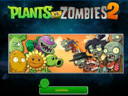 PvZ 1 Main Menu modded