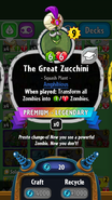The Great Zucchini PvZH 1.4.14