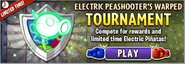 Electric Peashooter´s Warped Tournament