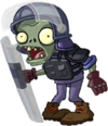 HD Explosion-Proof Police Zombie