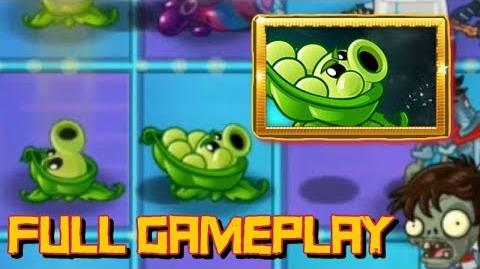 Plants vs Zombies 2 - Sling Peashooter Gameplay