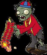 Chinese new year zombie