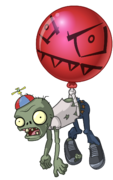 HD Balloon Zombie