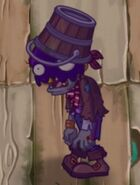 Poisoned Buckethead Pirate Zombie