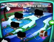 Zombies on Ice! map