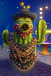 Cactus Bandido Plants vs Zombies Garden Warfare 2