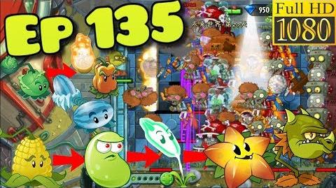 Plants vs. Zombies 2 (China) - All by Oneself 2 One plant VS Zombies - Far Future Day 20 (Ep