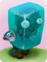 Ice Block ZombieA