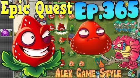 Plants vs. Zombies 2 - STRAWBURST - Epic Quest Premium Seeds (Ep