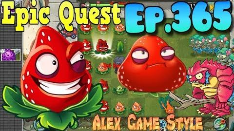 Plants vs. Zombies 2 - STRAWBURST - Epic Quest Premium Seeds (Ep.365)