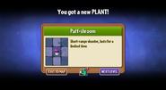 Puffshroom unlokced