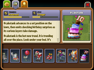 Cake Tank Almanac Entry (Part 1)