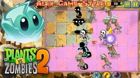 Plants vs. Zombies 2 Got a New Plant Iceberg Lettuce Ancient Egypt Day 5 (Ep