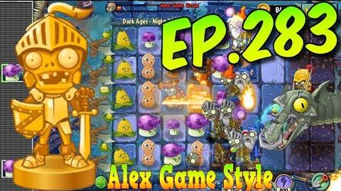 Plants vs. Zombies 2 Zombot Dark Dragon - Defeat ZomBoss - Dark Ages Night 20 (Ep
