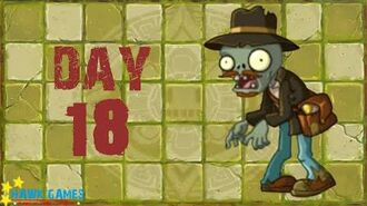 Pre-1.8 Plants vs. Zombies 2 China - Lost City - Day 18 Last Stand