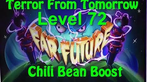 Terror From Tomorrow Level 72 Chili Bean Boost Power Tiles Plants vs Zombies 2 Endless GamePlay